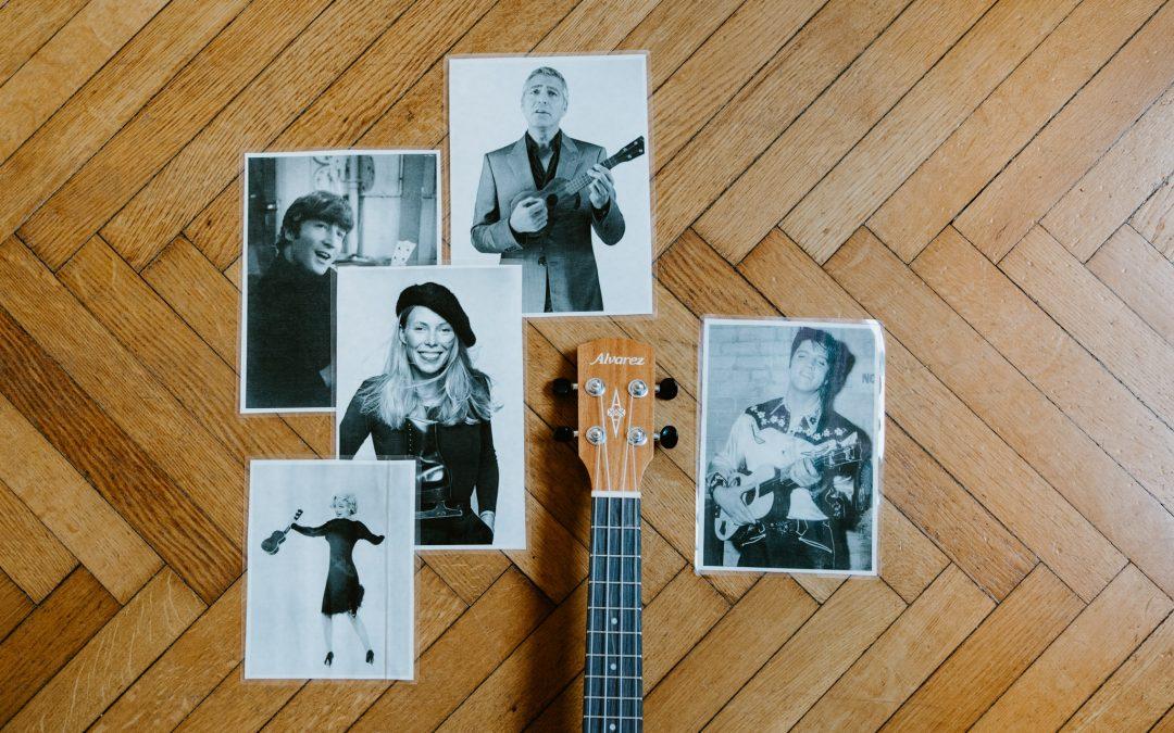 Marilyn Monroe: scopri il lato sensuale dell'ukulele!