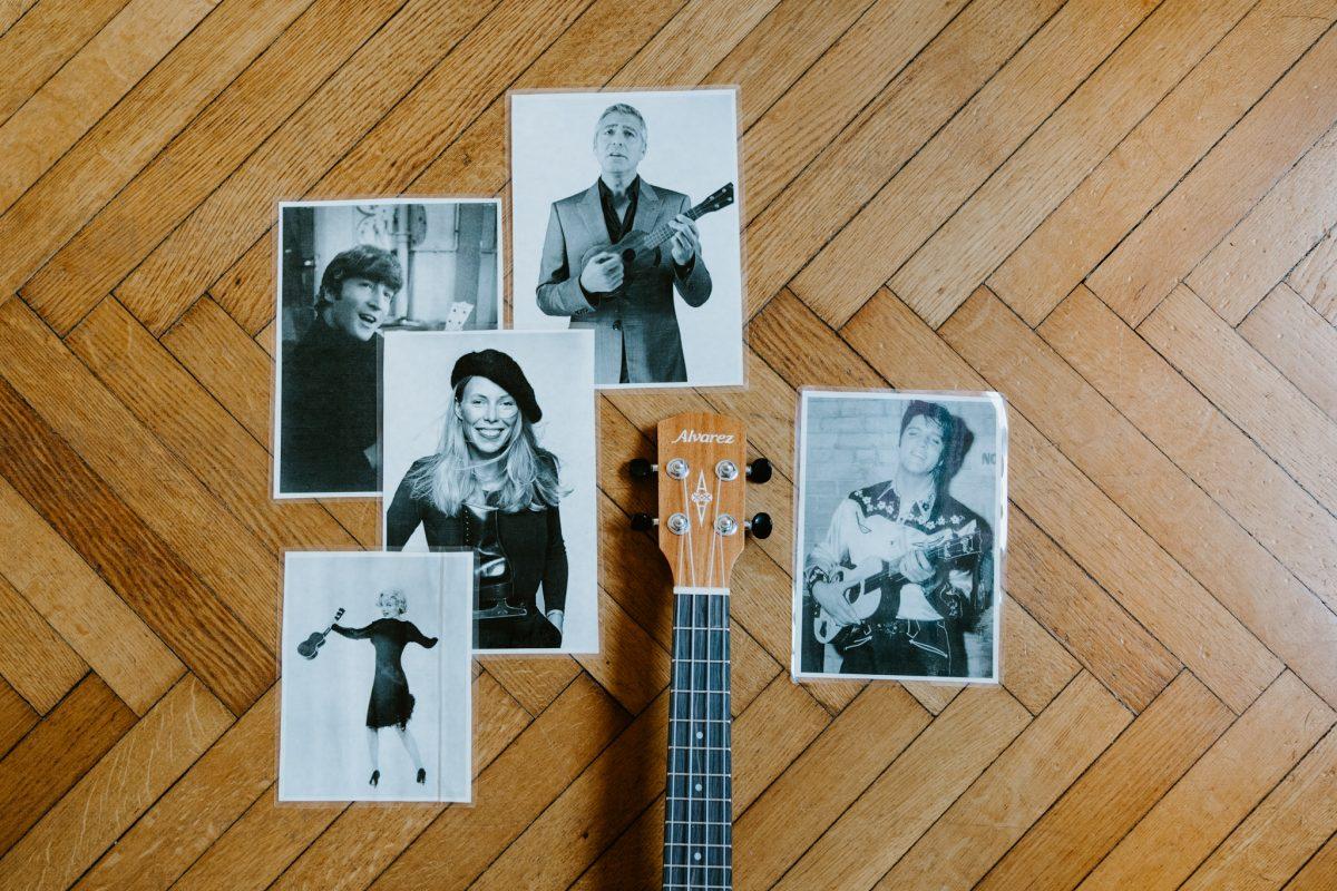 John Lennon e l'ukulele: la creatività che esplode
